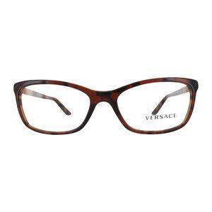 New Versace Brown  Havana Eyeglasses